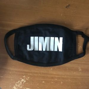 bts jimin face mask